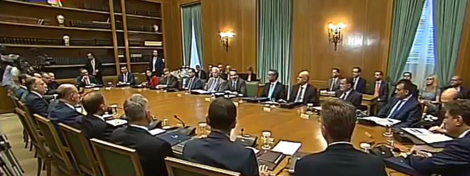 Kryeministri i Greqisë Mitsotakis prezanton prioritetet e qeverisë së tij