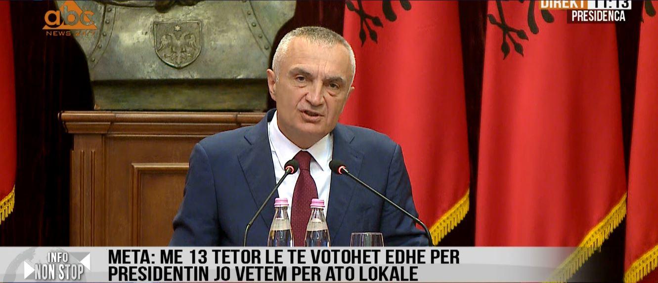 Meta sfidon Ramën: 13 Tetor, zgjedhje të parakohshme parlamentare dhe për presidentin