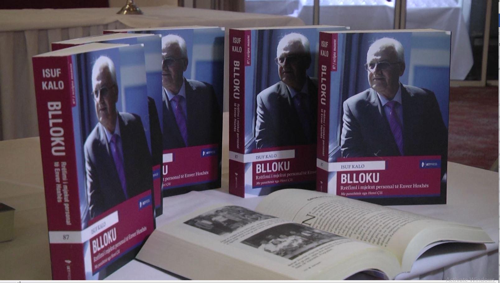 """Isuf Kalo, ish-mjeku i Enver Hoxhës prezantonlibrin për """"Bllokun"""""""