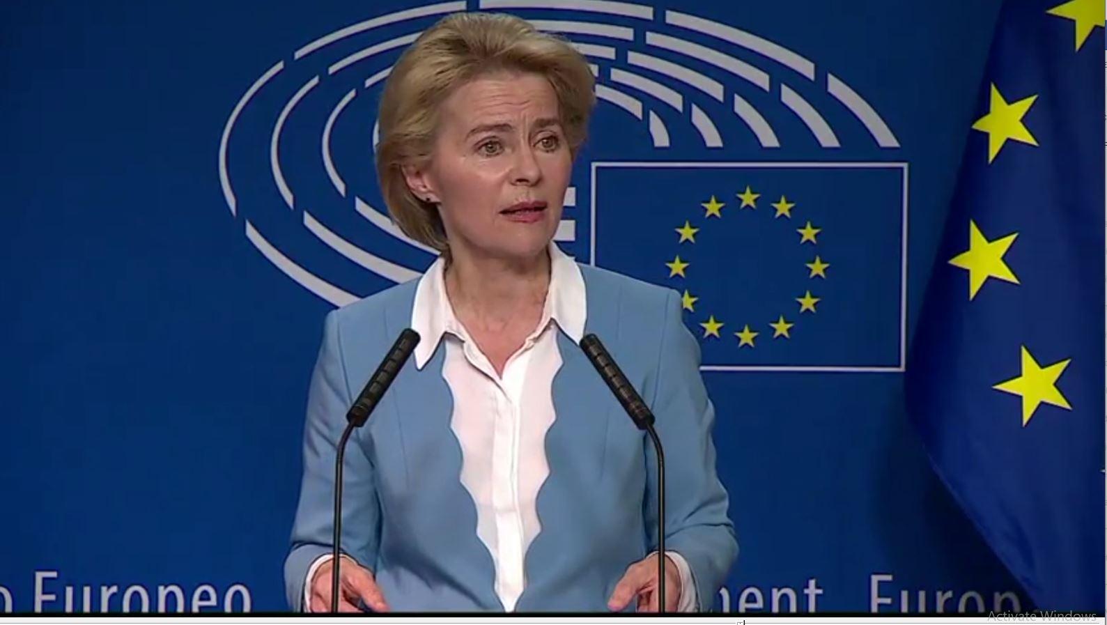 Presidenca e KE-së, Ursula von der Leyen rrezikon votën e shumicës