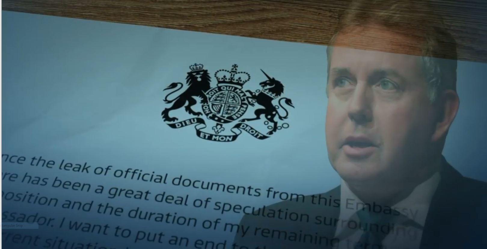 Britania nis hetimet për publikimin e bisedave të ish ambasadorit britanik në SHBA