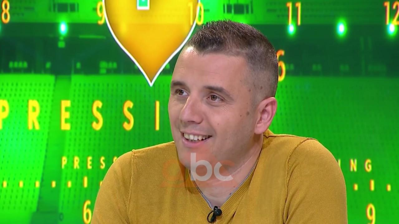 Gentian Cici, arbitri shqiptar që po gjykon në Beograd