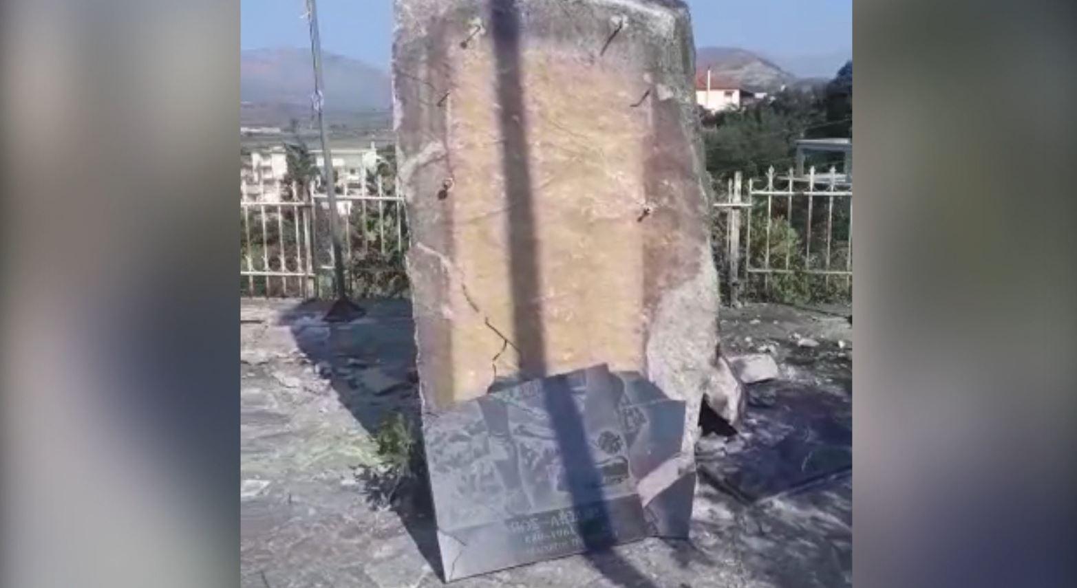 Hidhet në erë memoriali i nacionalistit grek