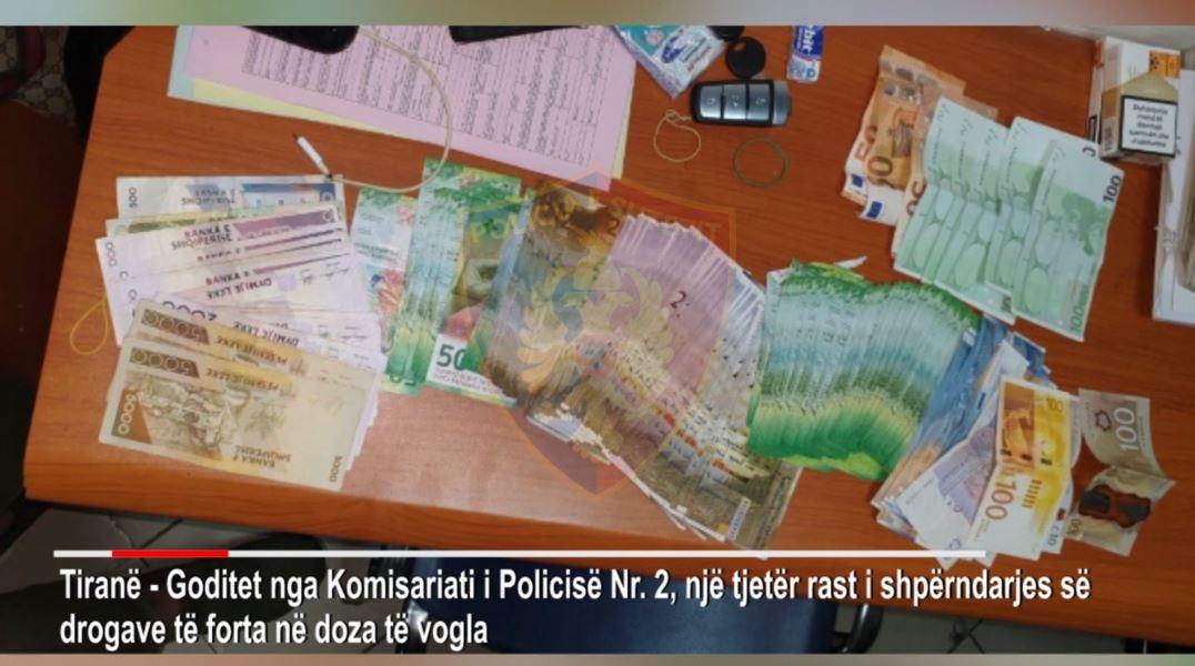 """""""Operacioni Blloku"""", sekuestrohen kokainë dhe para cash"""