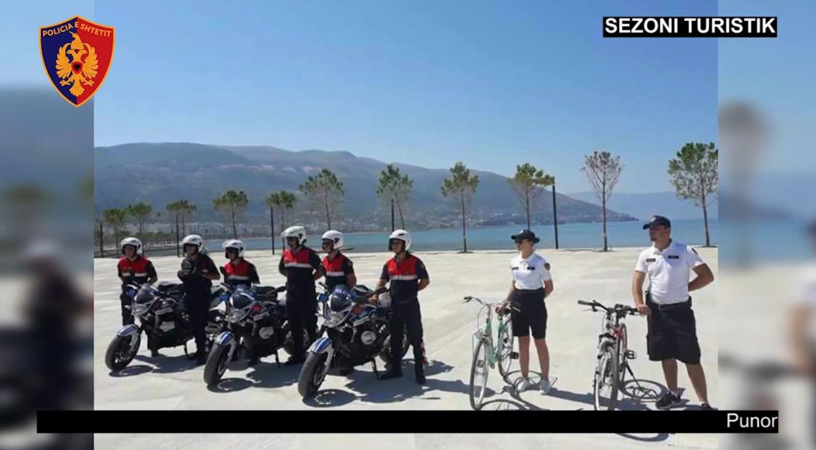 Sezoni turistik, trupa policore të huaja në Shqipëri