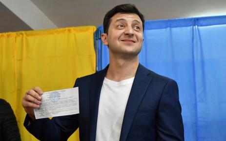 Partia e Presidentit të Ukrainës shënon fitore rekord