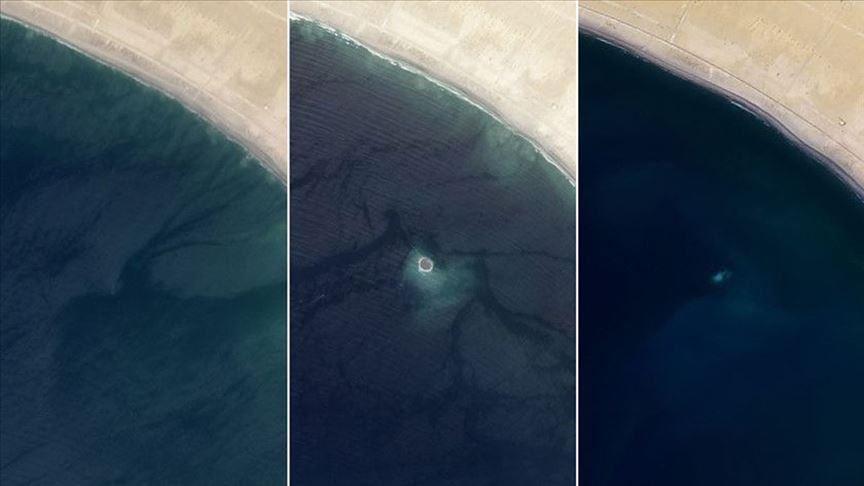 Zhduket ishulli i shfaqur pas tërmetit para gjashtë vitesh