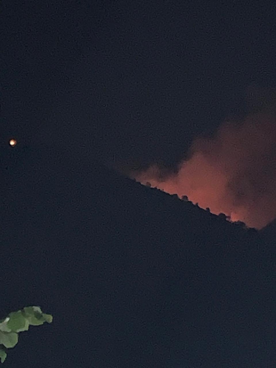 Zjarr i madh në Borsh