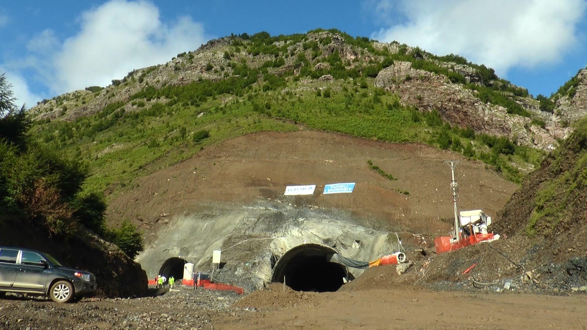 Rruga e Arbrit, Balluku inspekton punimet në tunelin e Murrizit