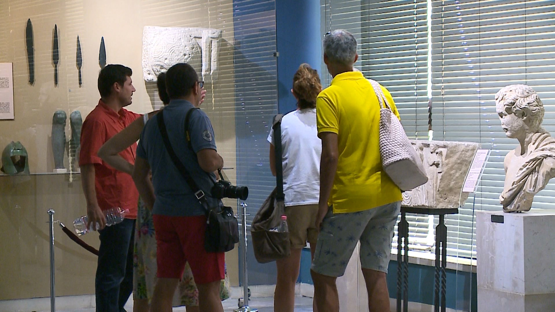 Në sezonin turistik, vizitorët e huaj shfaqin interes të madh për muzetë
