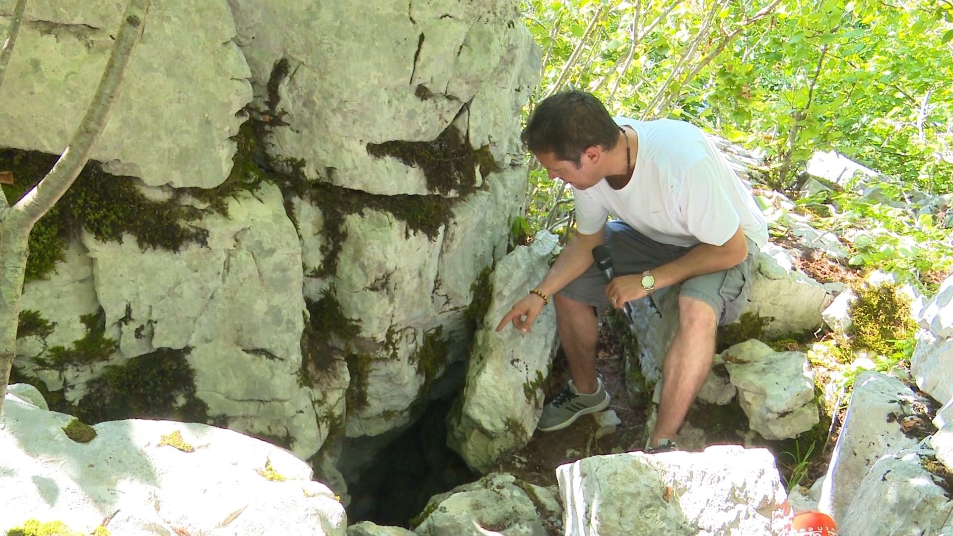 Keci i humbur zbulon shpellën ku iu fsheh regjimit albanologu Dom Nikollë Gazulli