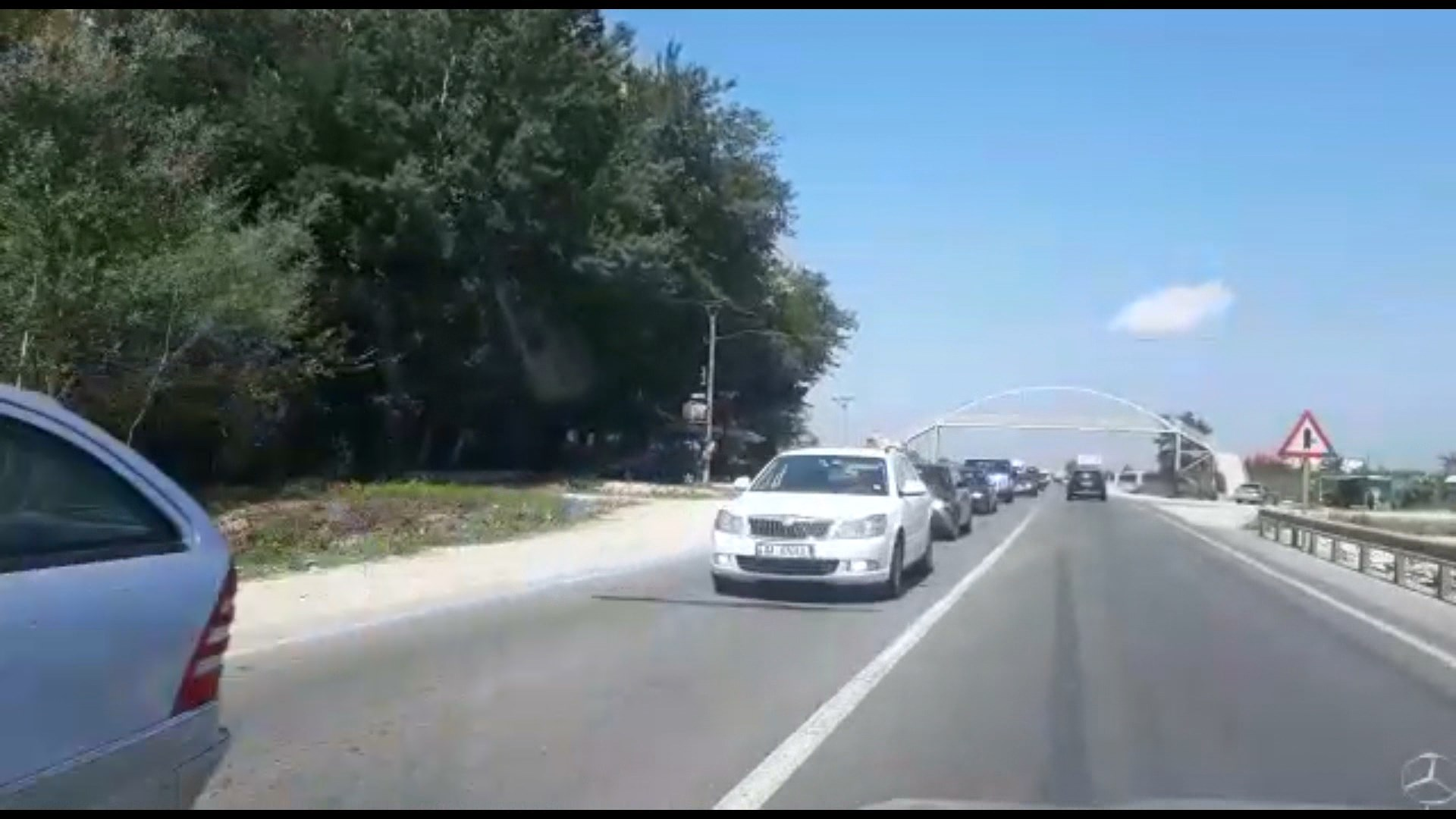 Rëndohet trafiku në aksin Fushë- Krujë-Thumanë nga fluksi i mjeteve