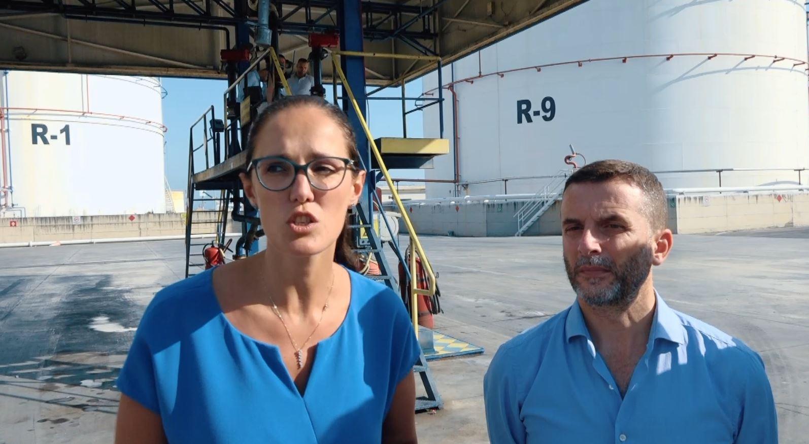 Braçe e Brahimaj kontroll në pompat e naftës në Porto – Romano: Respektoni ligjin ose ju pret burgu