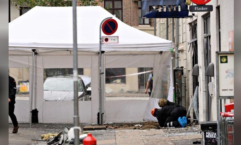 Danimarkë, shpërthim në komisariatin e policisë