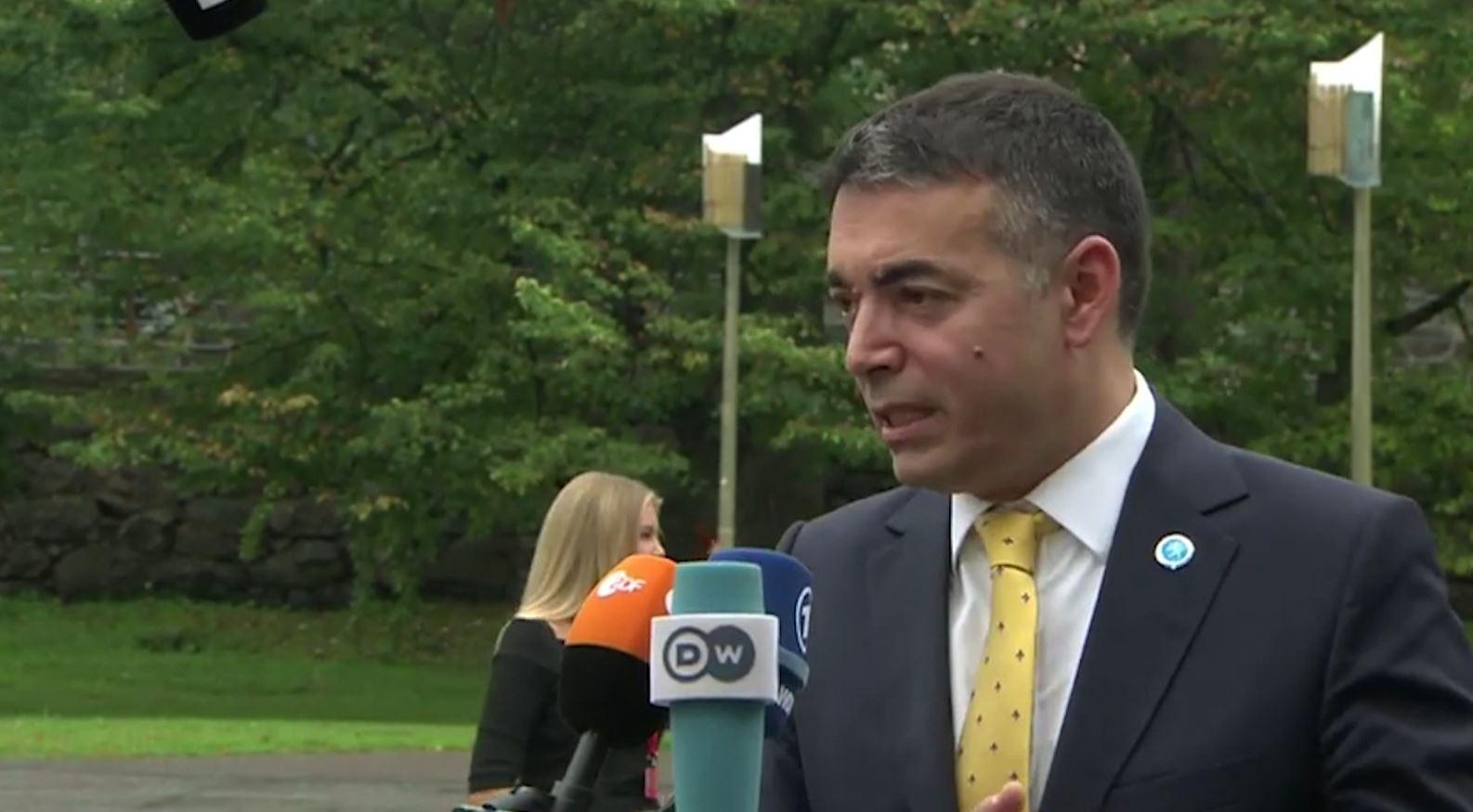 Ministri i jashtëm i Maqedonisë së Veriut Dimitrov: Më mirë të ketë vendime të ndara për çdo vend