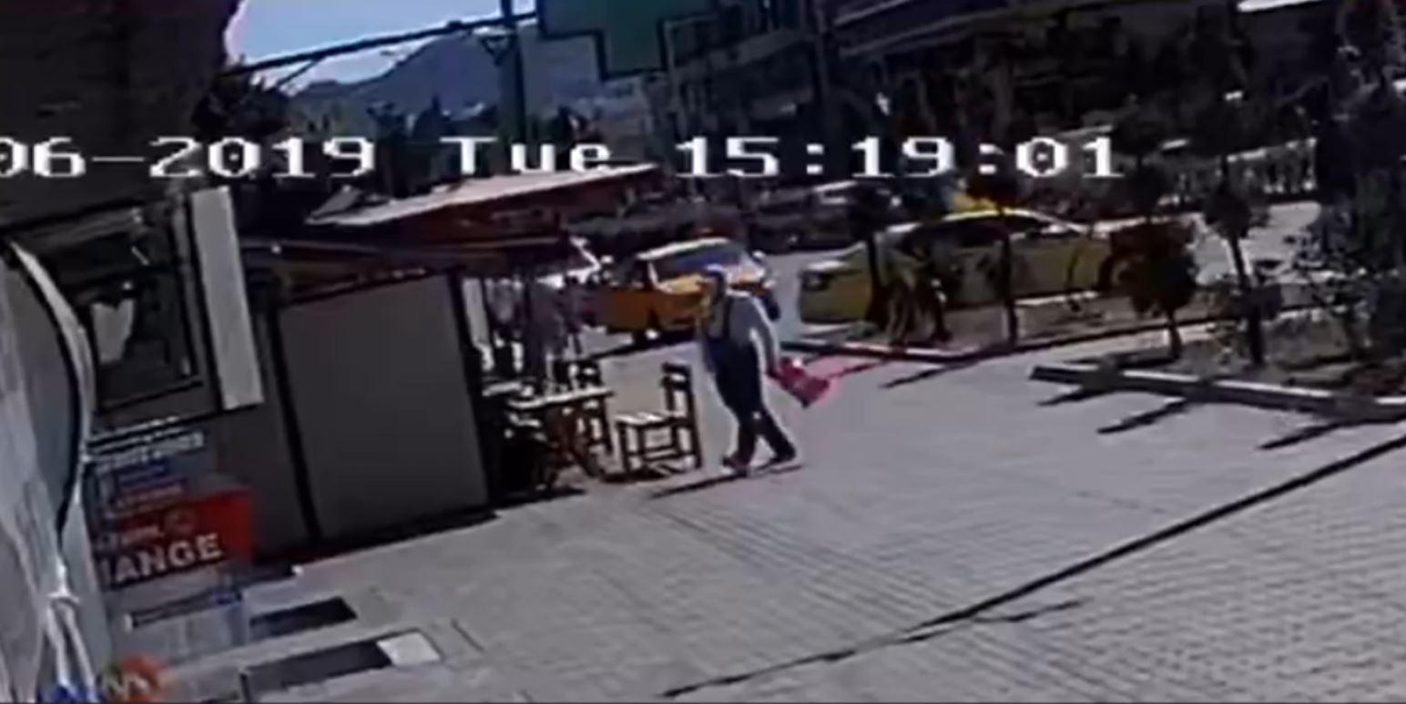 ABC News siguron pamjet, ky është autori që grabiti një zyrë kreditimi në Tiranë