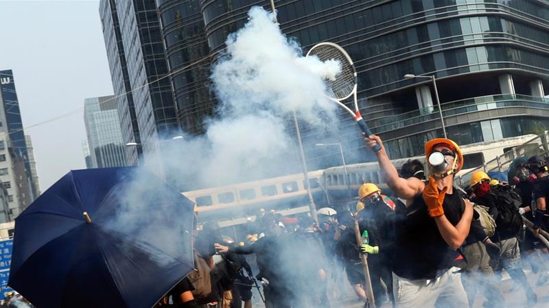Fundjava e 12 e protestave në Hong Kong