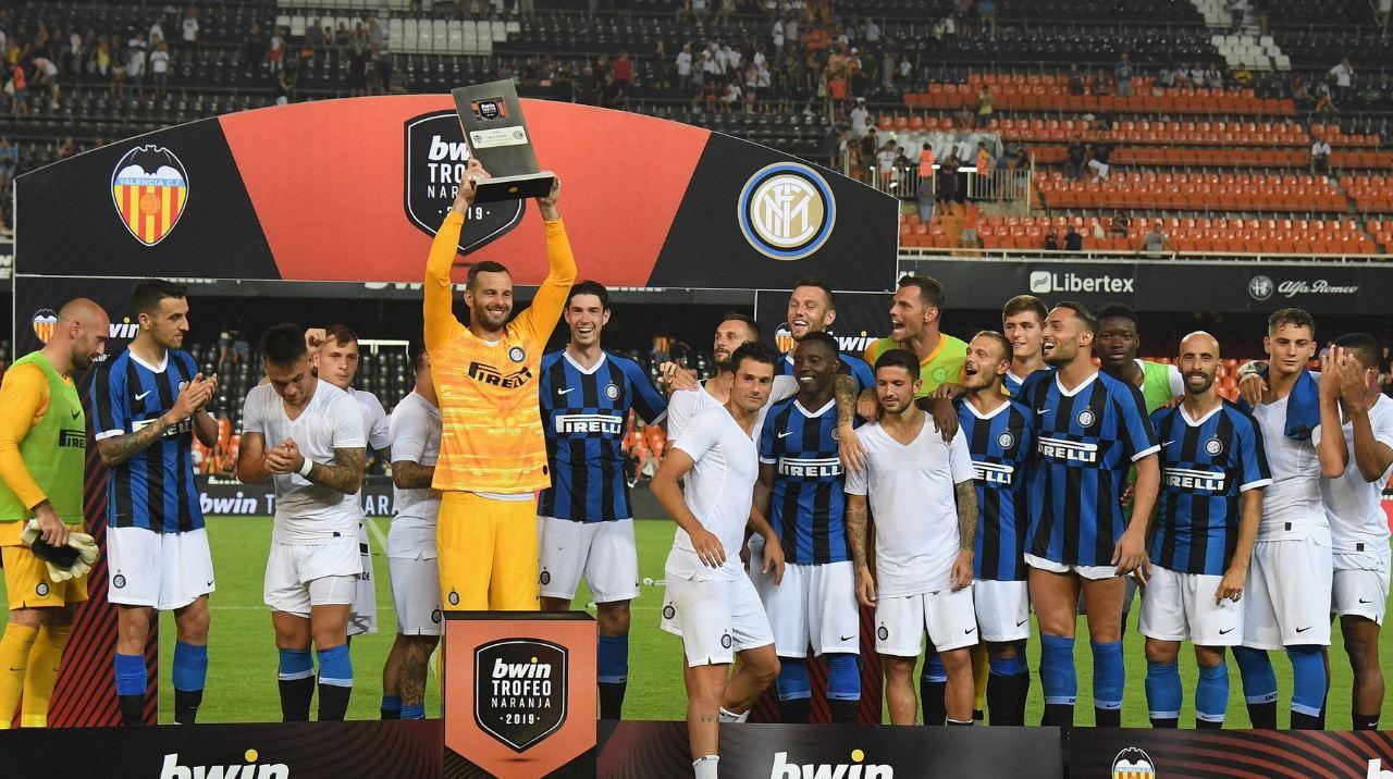 Skuadra e Interit fitoi ndaj Valencias