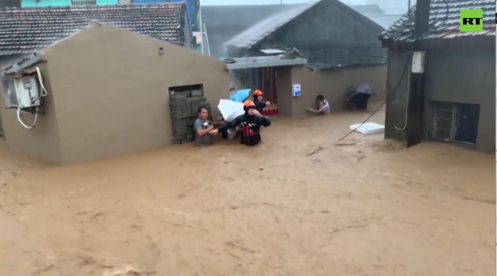 """Kinë, rëndohet bilanci i viktimave të tajfunit """"Lekima"""""""