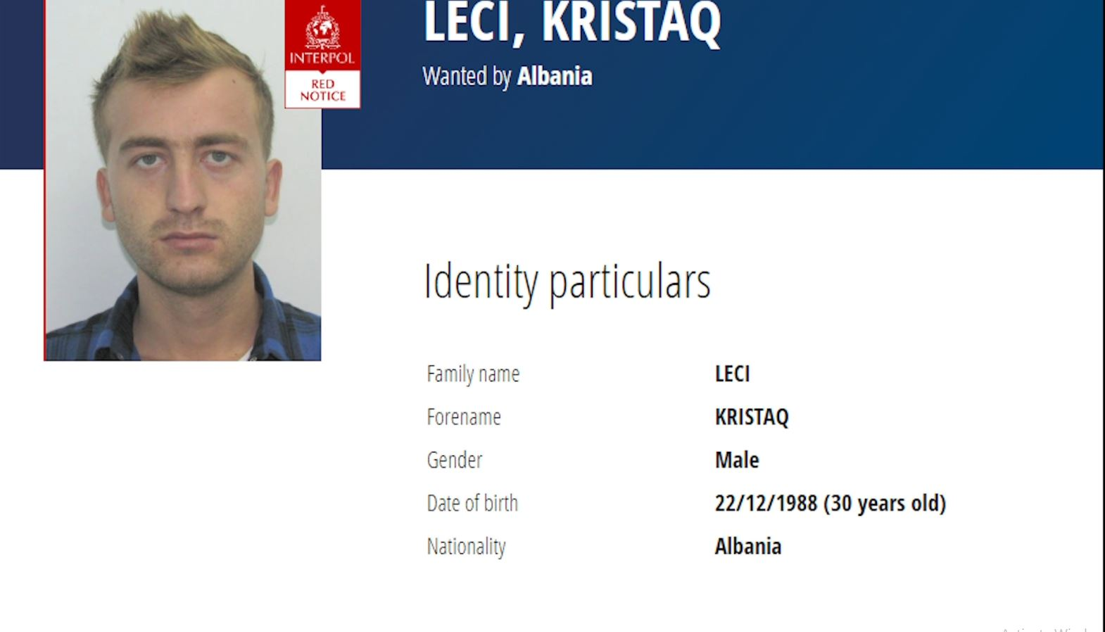 Arrestohet në Greqi bashkëpunëtori i vrasësit të komisar Artan Cukut