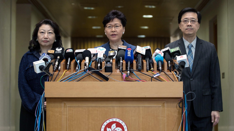 Guvernatorja e Hong Kongut: Platformë për dialogun pas protestave
