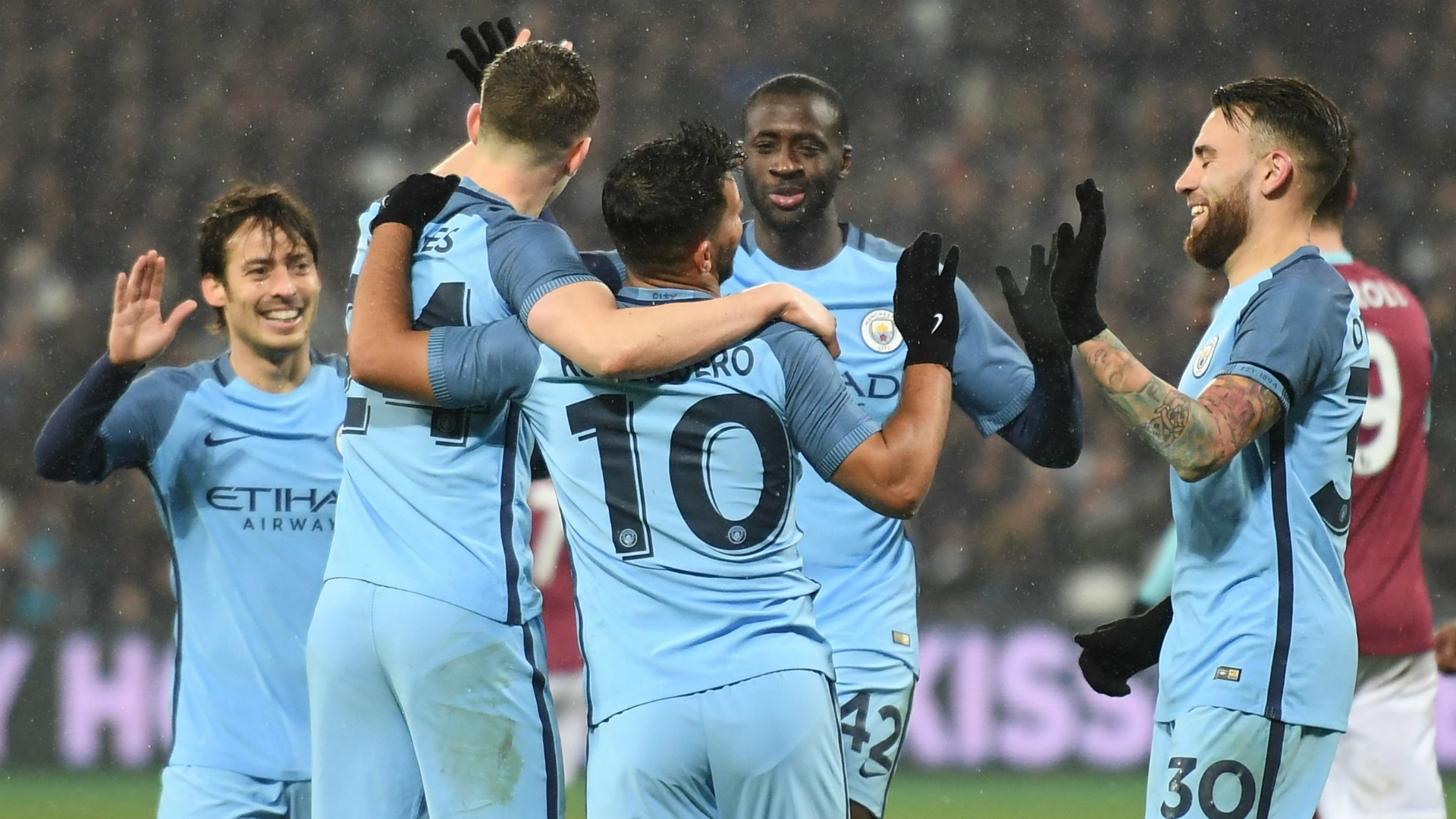 Manchester City fiton 5-0 ndaj West Hem