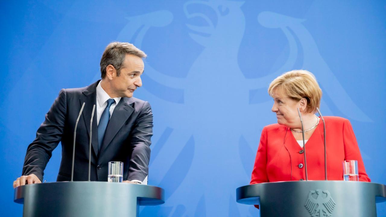 Mitsotakis takohet me kancelaren Merkel: Bashkëpunim i ngushtë ekonomik mes dy vendeve