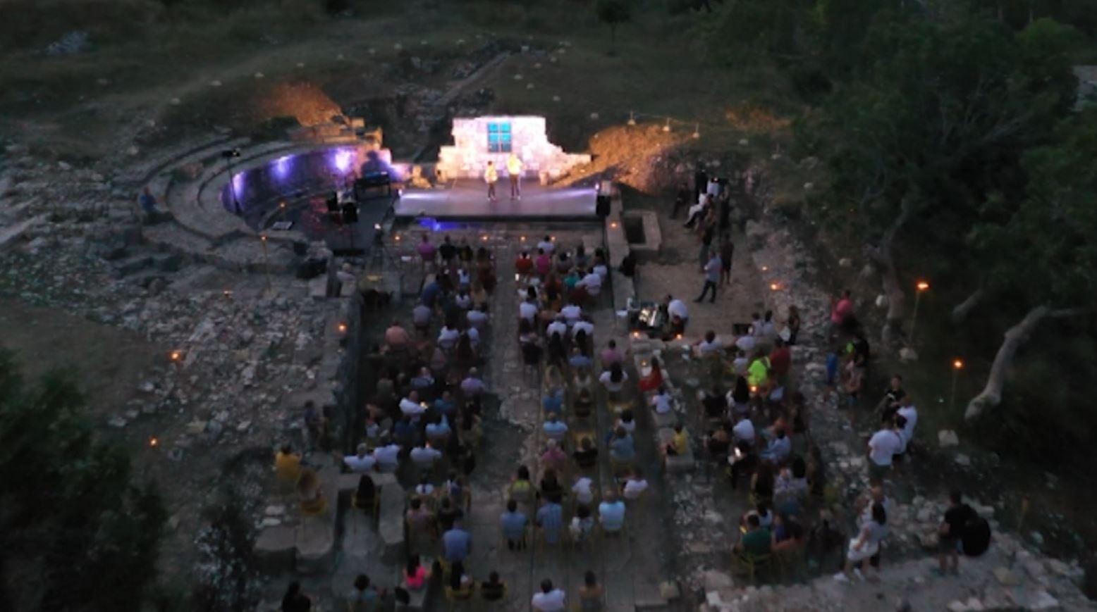 Natë magjike në Orik të Vlorës, muzikë, teatër dhe balet