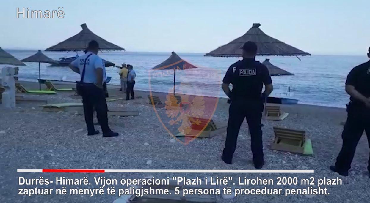 Lirohen plazhet publike në Durrës dhe Himarë