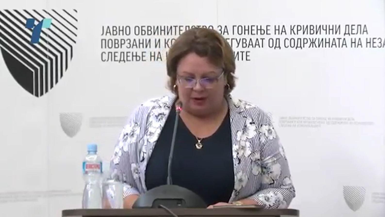 Maqedoni, prokurorja pranon zërin në përgjime