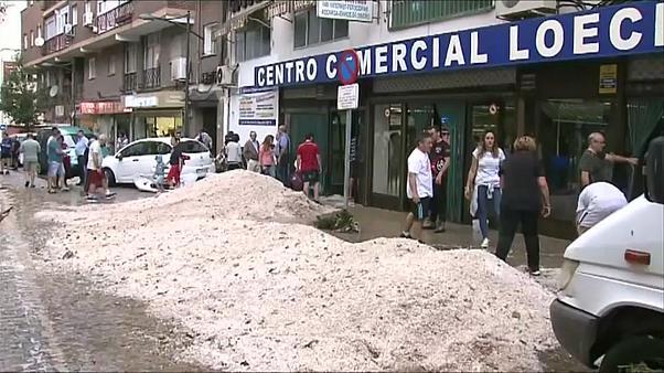 Madridi llogarit dëmet e shkaktuara nga reshjet e dendura