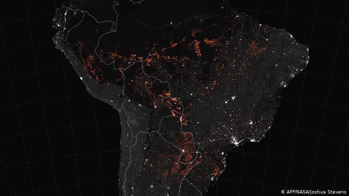 Pasojat e pariparueshme të zjarreve në Amazona