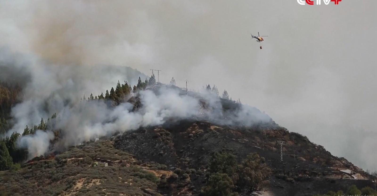 Spanjë, zjarr në ishujt Kanare, evakuohen 1 mijë persona