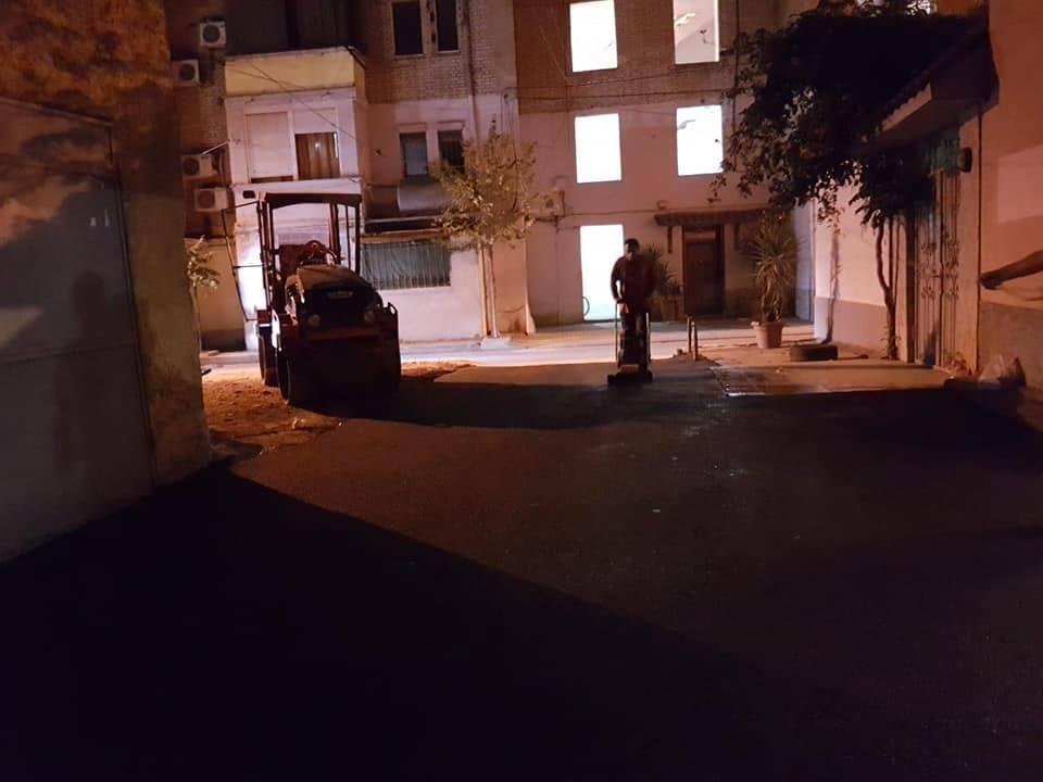 Bashkia e Tiranës vijon ndërhyrjet nëpër lagje