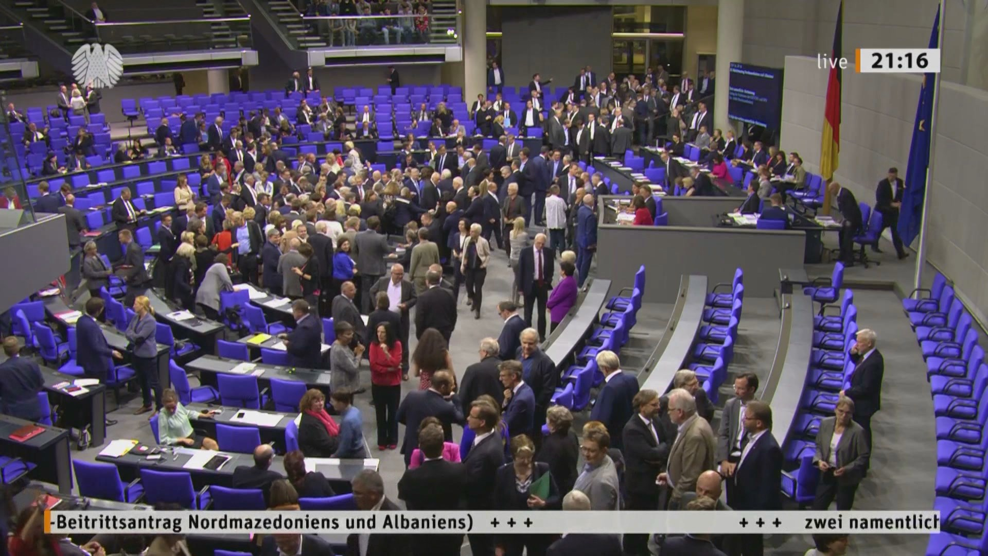 Vendimi i Bundestagut, Hahn e Soreca: Faleminderit!