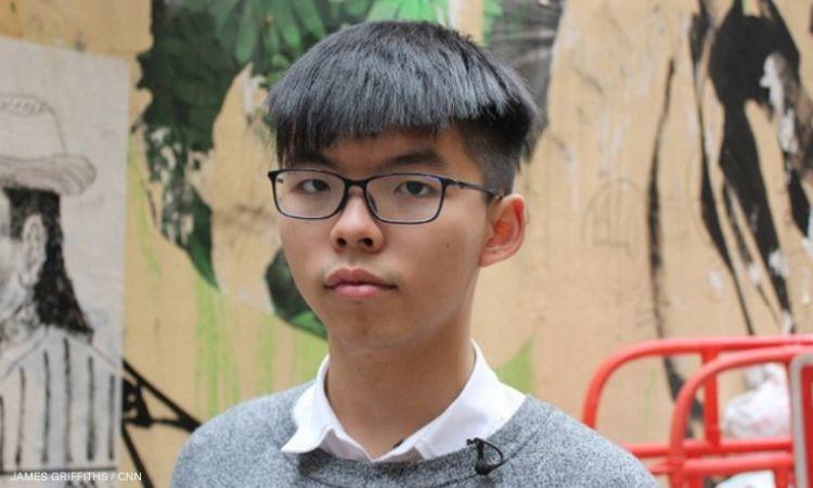 Aktivisti 22 vjeçar Joshua Wong shpall kandidaturën për zgjedhjet e nëntorit në Hong kong