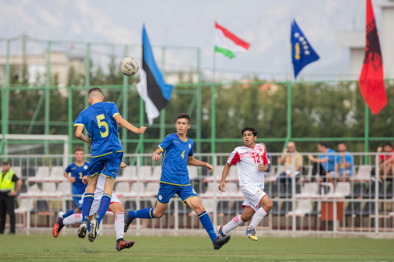 Kosova U-15 triumfon bindshëm 8-0, Shqipëria mposhtet nga Estonia