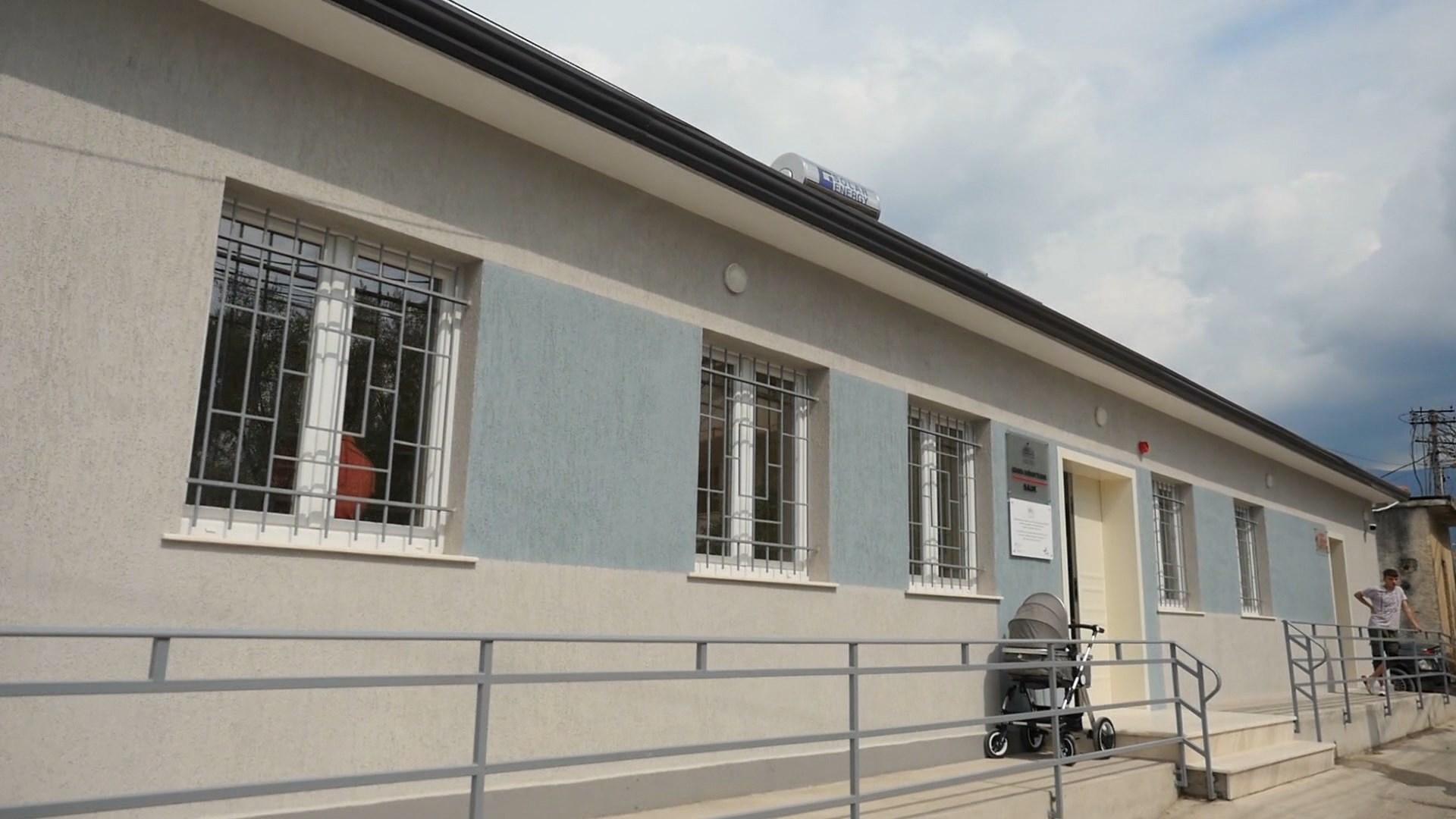 Sauku me qendër të re shëndetësore, Manastirliu: Shërbim me standarde