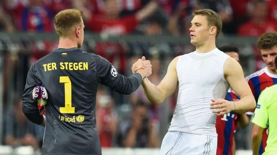 Ter Stegen: Nuk po luftoj me Neuer, kemi një raport të bukur