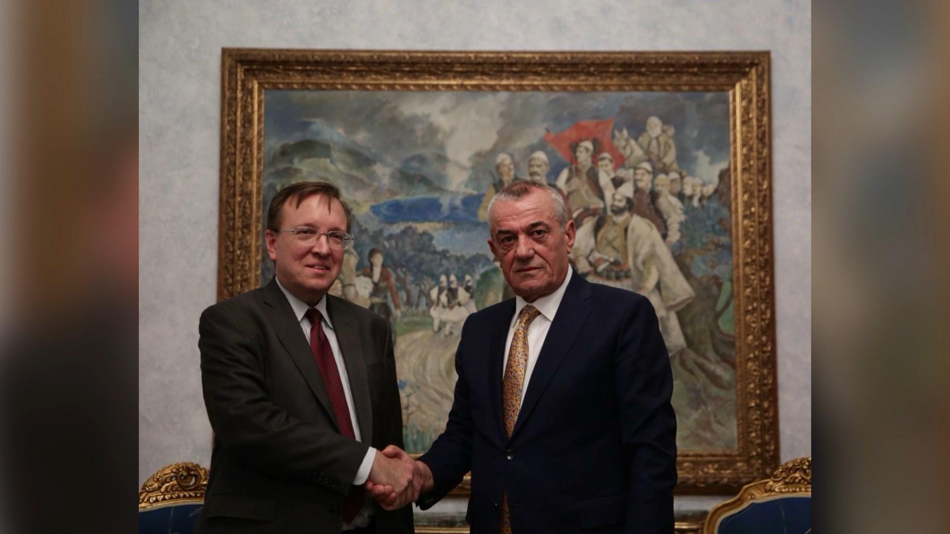 Drejtori i DASH për Europën, Kostelancik takon Ruçin: Sa më parë reforma zgjedhore