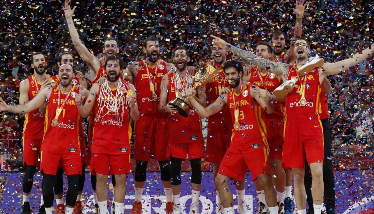 Spanja fiton botërorin e Basketbollit për meshkuj