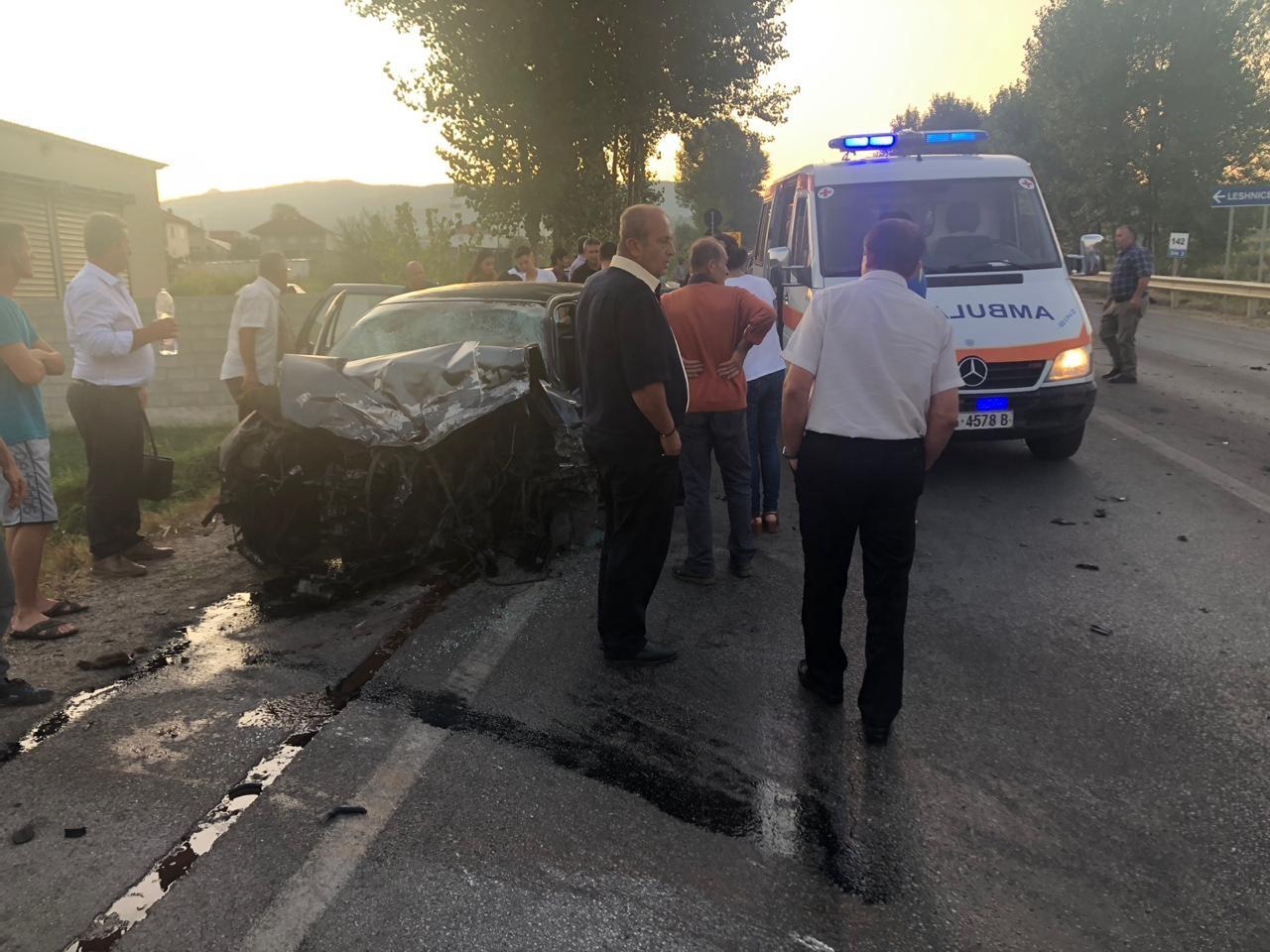 Aksident tragjik në Korçë, humb jetën 1 person plagosen 4 të tjerë