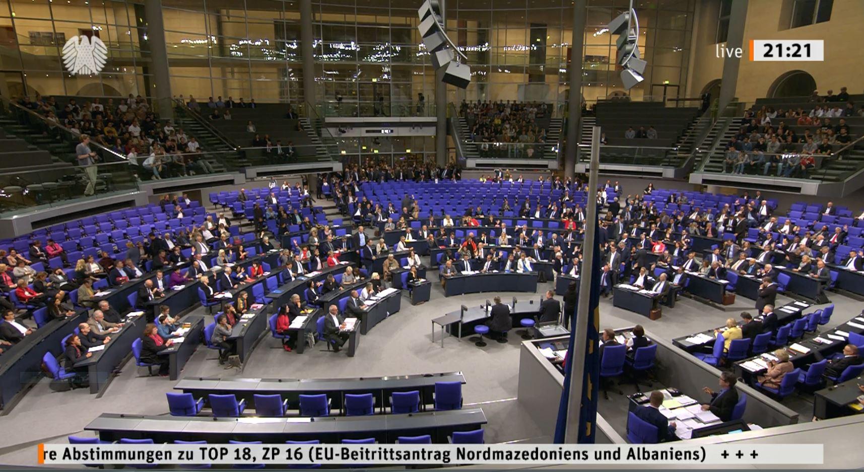 Bundestagu vendos: Gjermania mbështet hapjen e negociatave Shqipëri-BE