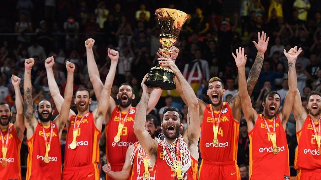 Spanja feston titullin e dytë botëror të koshit
