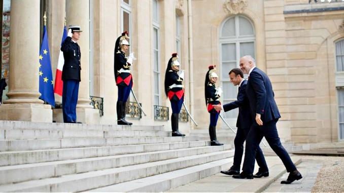 Incidenti me himnin, Macron mesazh ndjese Ramës
