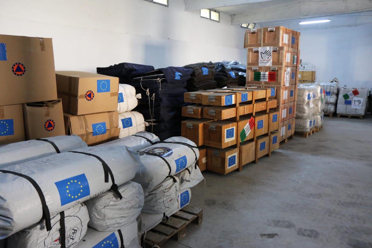 BE ndihma për tërmetin, Xhaçka: Godinat e shembura do të rindërtohen