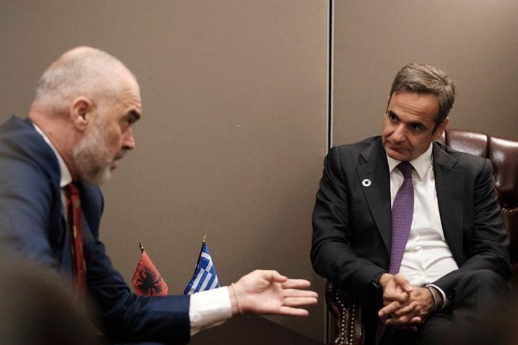 Kryeministri Rama sot në Greqi, do të diskutojë me Mitsotakis çështjet mes dy vendeve