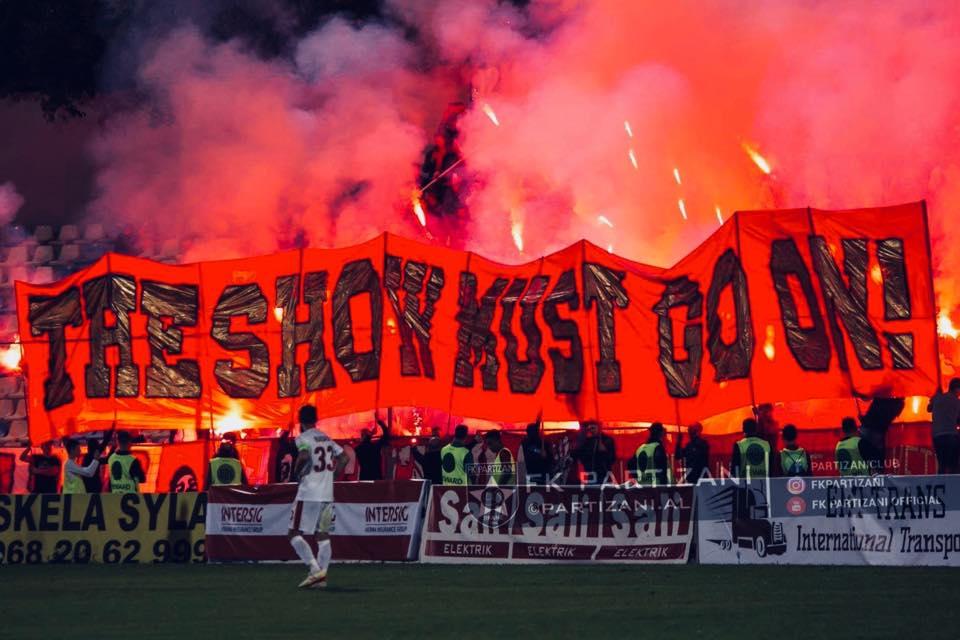 Njoftimi i Guerrils, tifozët e Partizanit bëjnë gjestin e madh