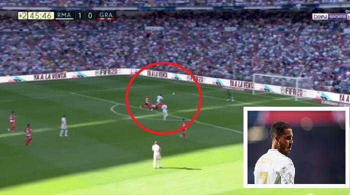 VIDEO | I shkëlqyer, goli i parë i Hazard me Realin është 'perlë'
