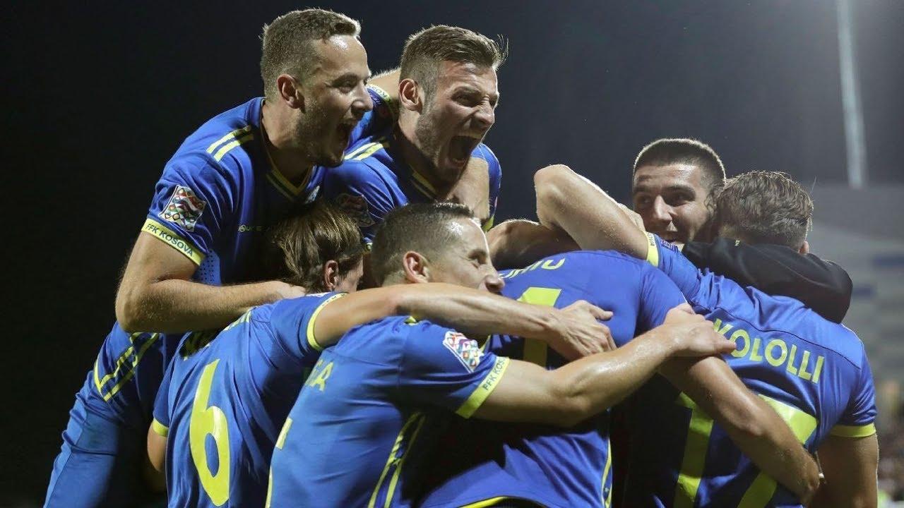 """VIDEO   Kosova në avantazh, Rrahmani """"fluturon"""" dhe gjen rrjetën"""